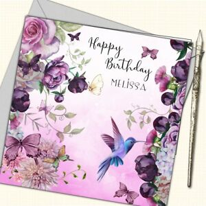 Image Is Loading Personalised Birthday Card Mother Daughter Sister Friend 30th