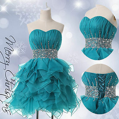 Short Prom Dresses A-Line Evening Homecoming Masquerade Ball Gowns Formal Dress