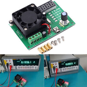 TEC-06-Battery-Capacity-Tester-16W-Electronic-Load-Max-500AH-LED-Display