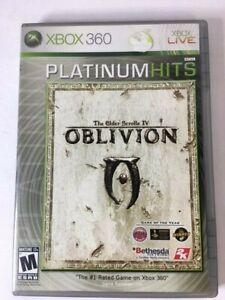 The-Elder-Scrolls-IV-Oblivion-Platinum-Hits-Microsoft-Xbox-360-2008-CIB-w-Map