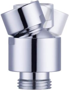 Hibbent Shower Head Swivel Ball Joint Adapter Ball Joint Adjustable Shower Arm