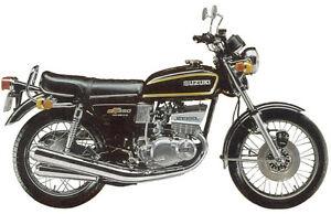 Suzuki-GT380A-1976-Modell-Tank-und-Seitliche-Platten-Voll-Lackierung-Kit