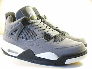 online store 38bc8 df6f8 Image is loading DS-NIKE-2004-JORDAN-IV-COOL-GREY-9-