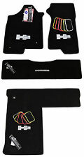 2003-2009 HUMMER H2 LUXURY PACKAGE Black Floor and Cargo Mats 32OZ 2PLY QUALITY