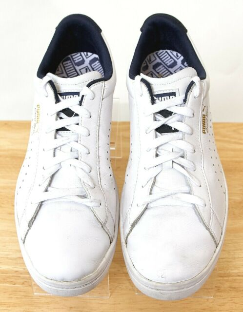 reputable site 479dd 46228 Puma Court Star Trainers Leather White Sneakers 359977 Mens US Size 9