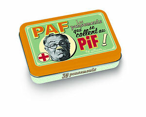 Kleine-Vorratsdose-mit-30-Pflaster-Pif-Paf-Retro-Vintage