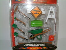 1/24 ACCESSORY PARTS,LANDSCAPING GARDENERS, FOR KIT UPGRADE,DIORAMA