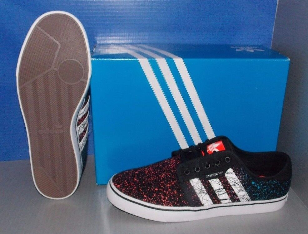 Bei adidas schwarz arbeiten in den farben schwarz adidas / weiß / solROT ftw größe 9,5 f2bb13