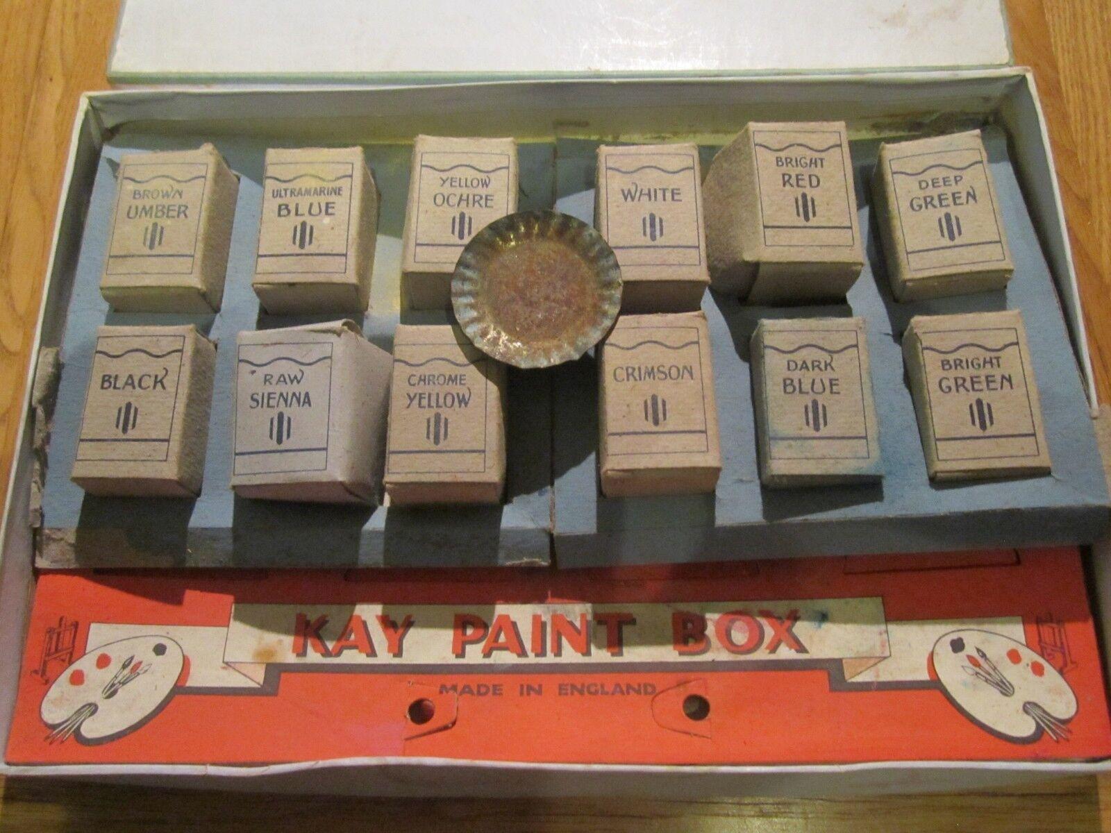 Oldtimer - kay farbe box
