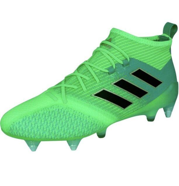 Adidas ACE 17.1 Primeknit SG FG, Football Boots. Green