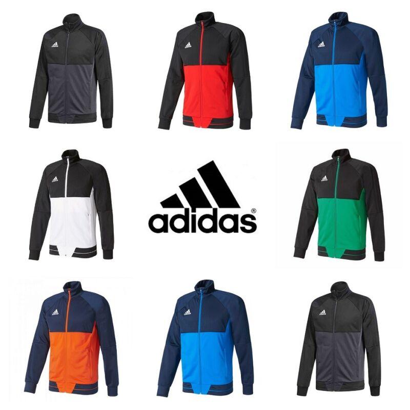 Adidas Tiro 17 Da Uomo Training Giacca Track Top Felpa Maglione Palestra Calcio