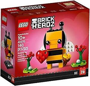 Lego-BrickHeadz-40270-Valentine-039-s-Bee