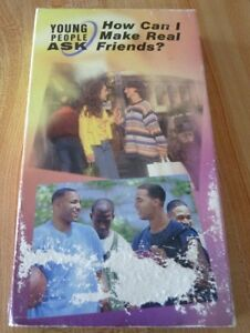 Rare-VHS-Movie-Young-People-Ask-How-Can-I-Make-Real-Friends-Original-Version