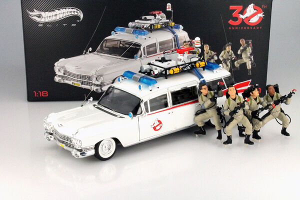 Hot Wheels Elite Ghostbusters Ecto 1 30th Anniversary Edition With