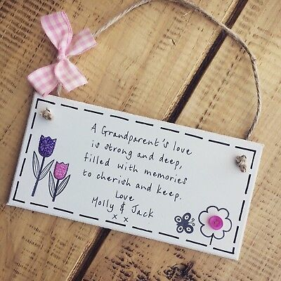 Mothers Day Gifts Grandma Gran Nan Great Plaque Sign Gift Present