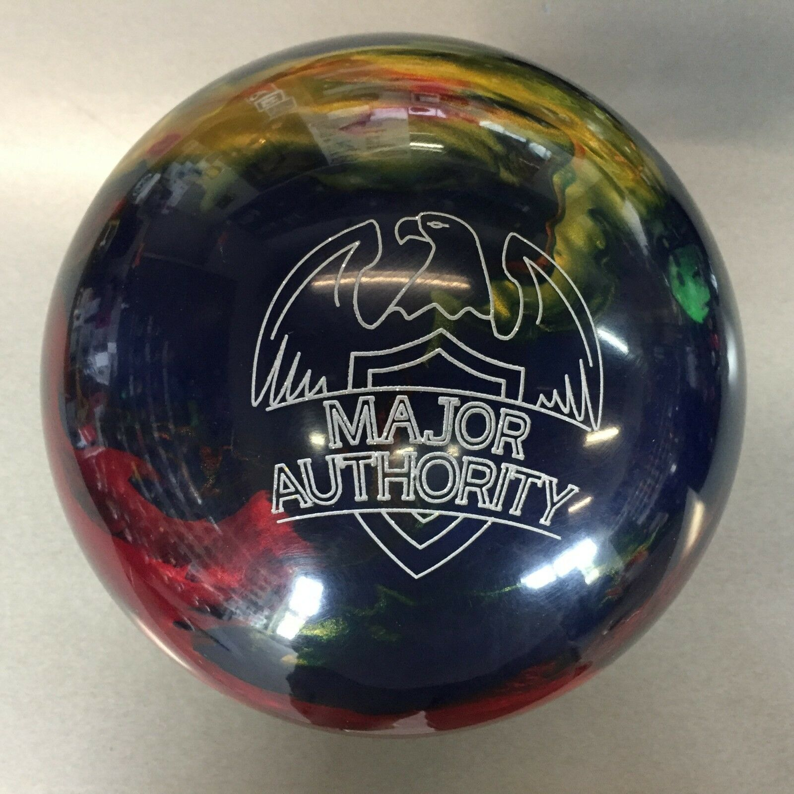 redO GRIP MAJOR AUTHORITY  1ST QUALITY   bowling  ball 12  LB.   NEW IN BOX