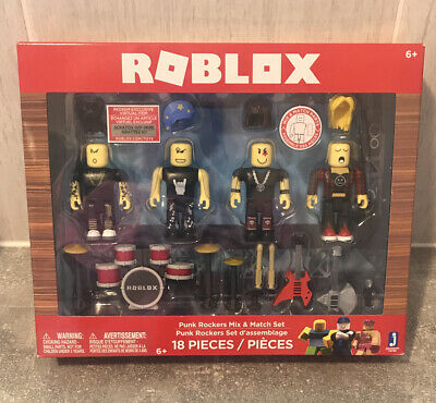 Action Figures Roblox Punk Rockers Mix Match Set Jazwares Import Roblox Punk Rockers Mix Match Set New In Box Ebay