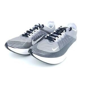 aa1aeea420b Nike Zoom Fly SP Mens Running Shoes Black Light Bone White AJ9282 ...