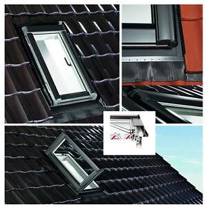 Roto-Dachfenster-WDA-R35-K-R-54x98-AL-Ausstiegsfenster-BlueLine-Kunststoff