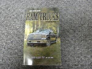 2017 ram 2500 owners manual
