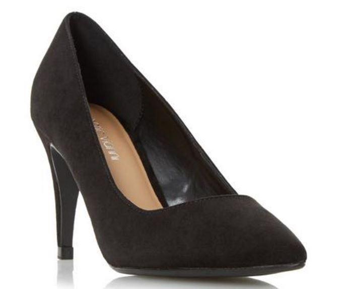 Roberto Vianni Axell Noir Bout Pointu Cour Chaussures Uk 8 Eu 41 Ln21 45 Sales