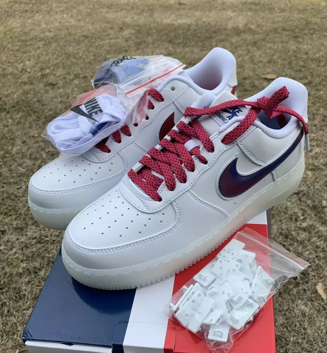 Nike Air Force 1 De Lo Mio Dominican Republica NYC Sneakers AF1 Men's Size 9 US