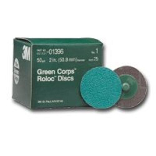 3M 264F Green Corps Roloc Disc 2 in 01396 50YF