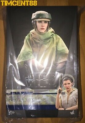Hot Toys Star Wars Princess Leia 1 6 Scale Collectible Figure Mms549 For Sale Online Ebay