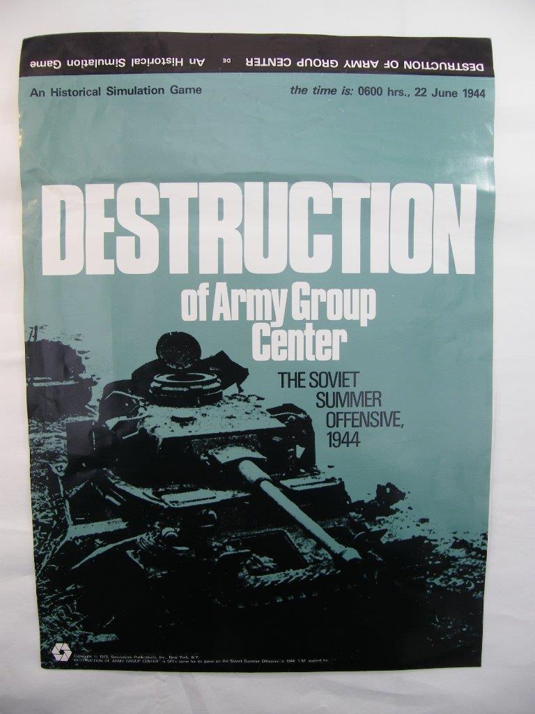Destruction de groupe d'armée centre-soviétique  été offensive 1944-SPI Games  meilleure réputation