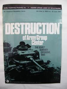 Destruction De Centre De Groupe De L'armée - Offensive D'été Soviétique 1944 Spi Games