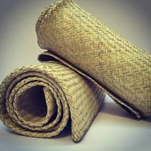 Petate Tule Rush Straw Rug Handwoven Petate Palm Organic