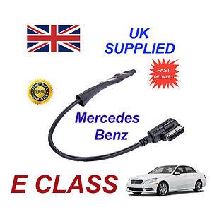 MERCEDES-CLASE-E-2009-Integrado-Bluetooth-Musica-modulo-para-iphone-htc-nokia
