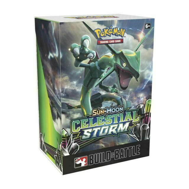 Pokemon Sun and Moon Celestial Storm Pre Release Kit Sealed