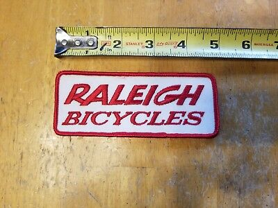 "Genuine Raleigh Bicycles Vintage Bike Patch 5/"" X 2/"""