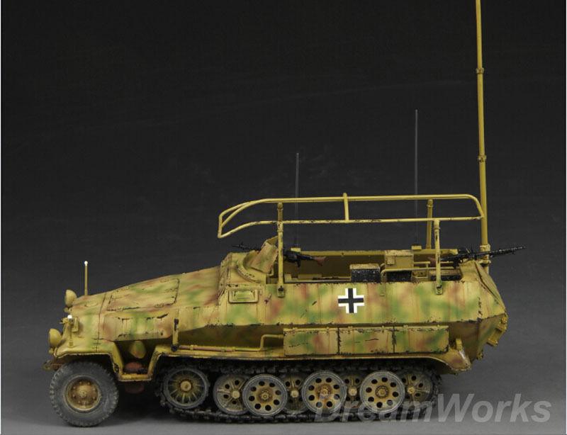 Award Winner Built Dragon 1 35 Sd.Kfz.251 6 Ausf.C Command Vehicle +PE