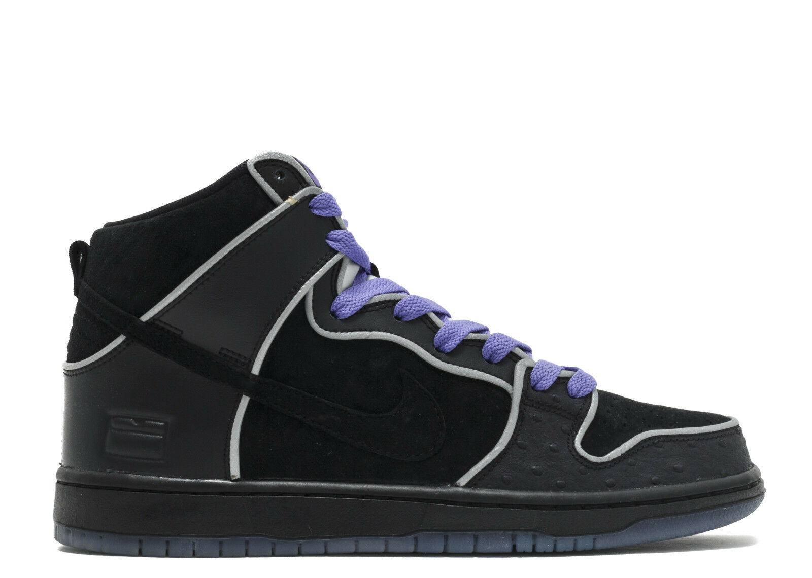 Nike DUNK HIGH ELITE SB Noir blanc  Violet Violet  Haze Discounted  Hommes  Chaussures 1332be