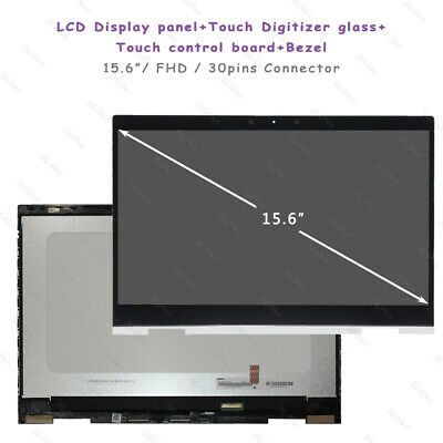 """HP ENVY X360 15M-CN0011DX 15M-CN0012DX 15.6/"""" LCD Touch Screen Digitizer Assembly"""