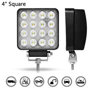 48W-4inch-LED-Offroad-Fog-Work-Light-Bar-Spot-Lamp-SUV-Truck-Driving-UTV-ATV-4X4