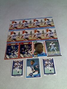 Terry-Kinard-Lot-of-85-cards-9-DIFFERENT-Football