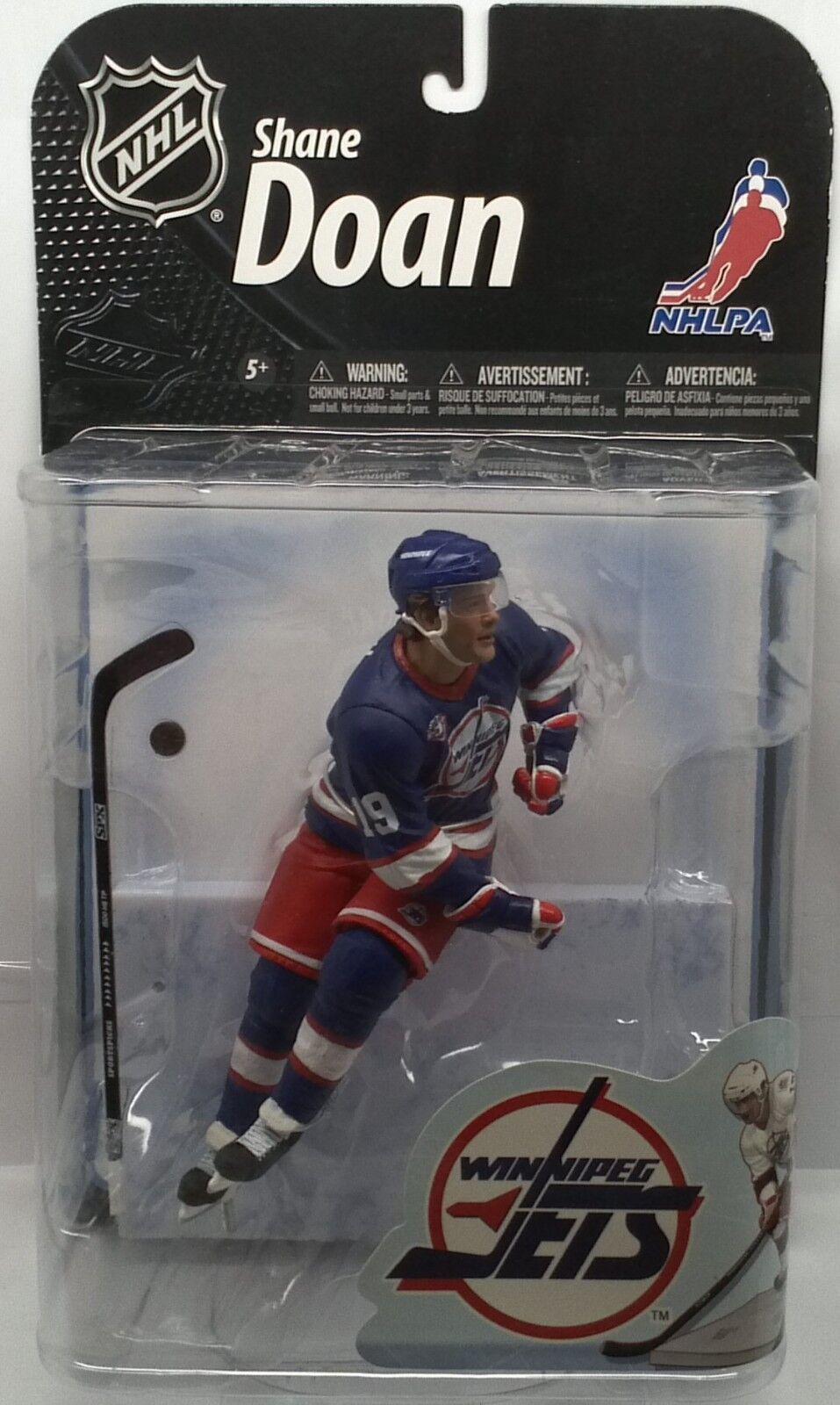 McFarlane Toys NHL SERIES 22 SHANE DOAN DOAN DOAN WINNIPEG blueE VARIATION  216 1996 439b0b