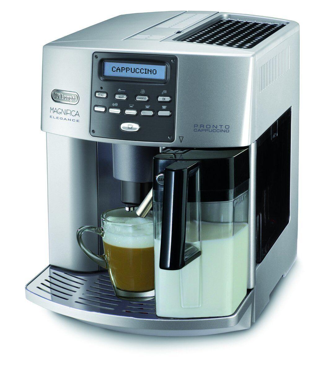 DeLonghi ESAM 3600 Espresso Coffee Machine Elegance Milk Container ...