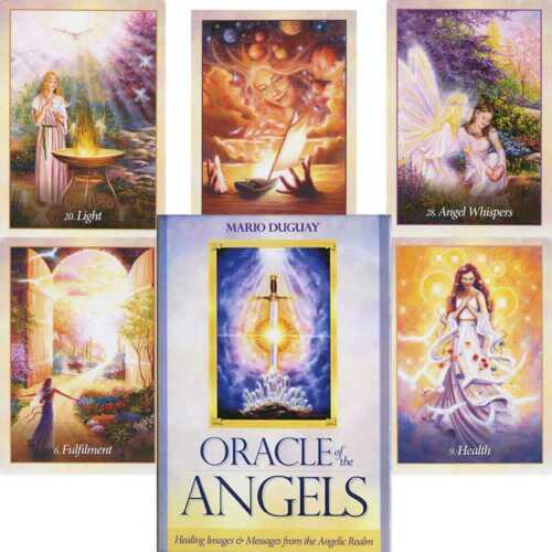 BLUE ANGEL ORACLE DECK ORAKEL KARTEN ESOTERIC FORTUNE TELLING DIVINATION NEW