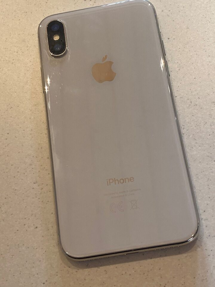 iPhone X, 64 GB, aluminium