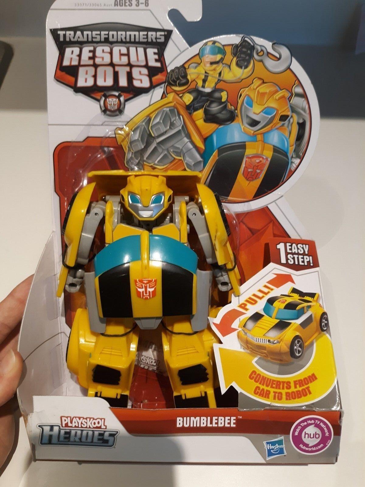 Hasbgold Transformers Playskool Rescue Bot - Bumblebee Original Edition