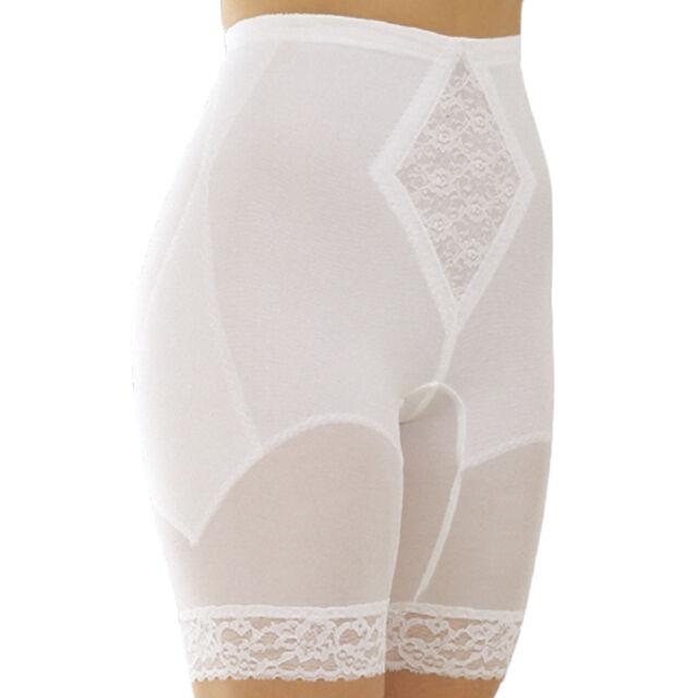 Rago Shapewear High-Waist Long Leg Pantie Girdle Style 6209 8XLarge White