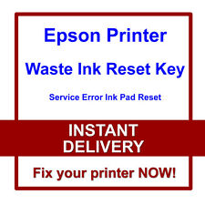 Epson Stylus Photo 820U 830U 890 900 error de servicio de restablecimiento de residuos de tintas de impresora culpa