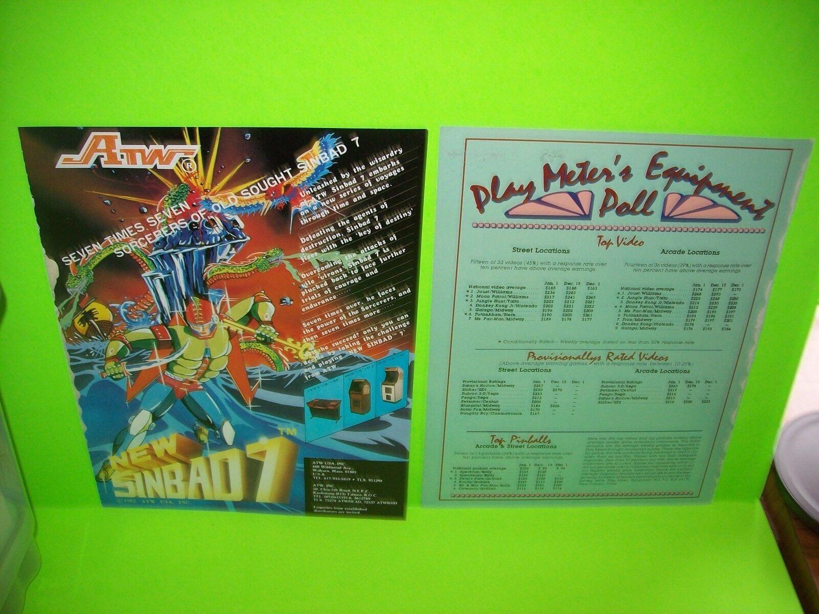 ORIGINAL Zaxxon By SEGA Video Arcade Game Combat ACE Point Value Card