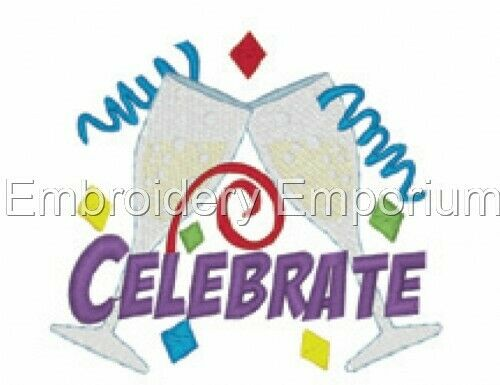 MACHINE EMBROIDERY DESIGNS ON CD OR USB CELEBRATIONS COLLECTION