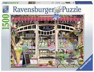 Ravensburger-Jigsaw-Puzzle-Vintage-ICE-CREAM-SHOP-1500-Piece