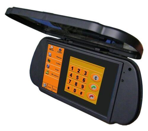 """7 /""""HD Bluetooth Espejo monitor con Flip-open Espejo cubierta"""